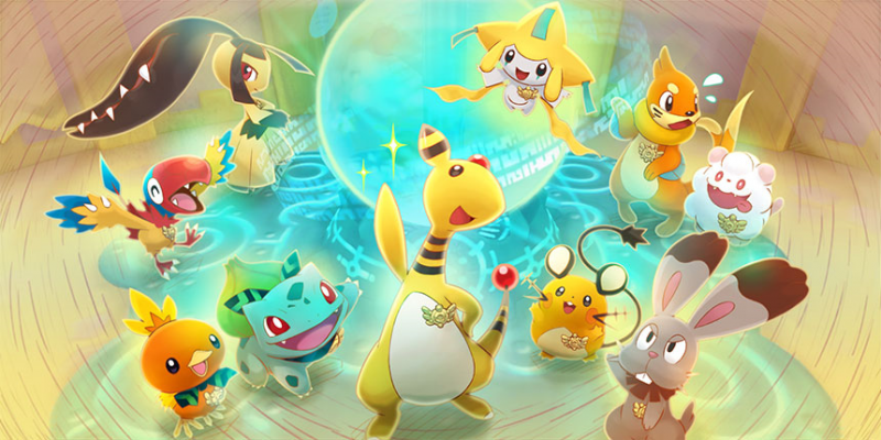 Expedition Society artwork Pokemon Super Mystery Dungeon