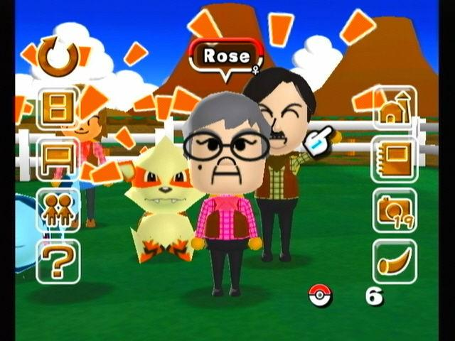 Some Mii's in My Pokemon Ranch