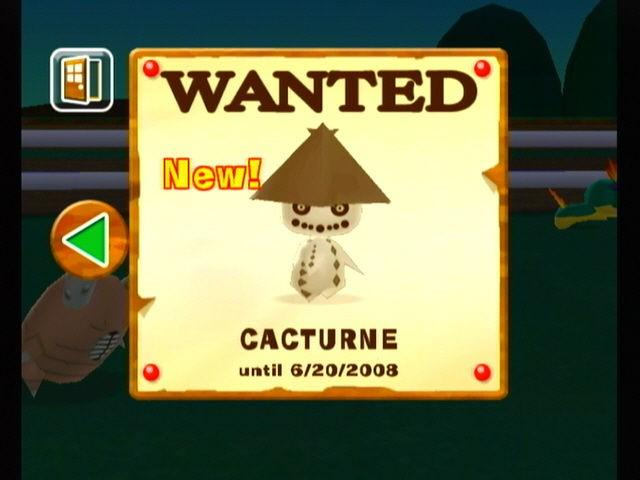 Wanted, Cacturne