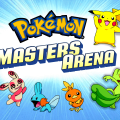 pokemon masters arena windows screenshot title screen