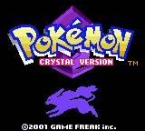 Pokemon Crystal Title Screen