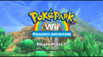 606849 pokepark wii pikachu s adventure wii screenshot title screen