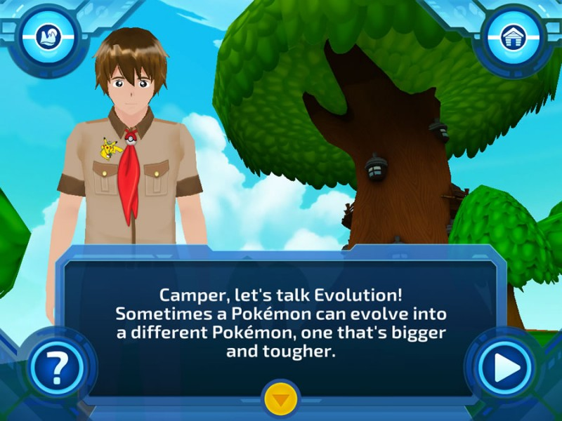 Pokemon Evolutions screenshot 1