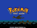 Pokemon Silver Version Wallpaper