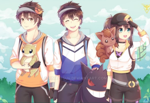 Pokémon Go Trainers!