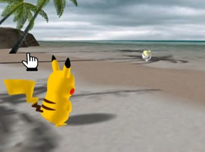 Pikachu at Coral Coast