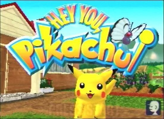 Hey You Pikachu Title Screen