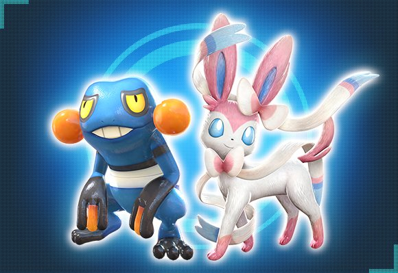 Croagunk Sylveon