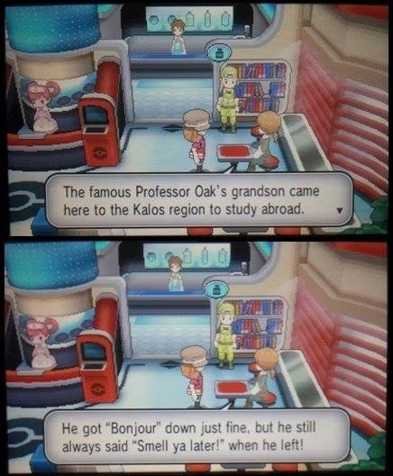 Gary Oak Reference in X Y