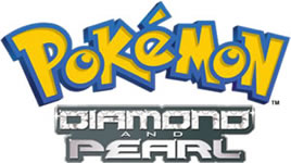 Pokemon Diamond and Pearl Season 10 Logo