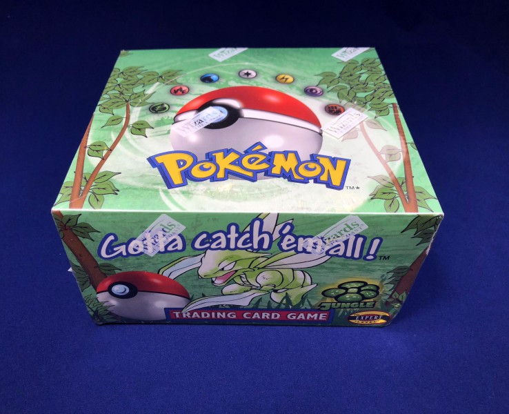 Jungle Set English Booster Box