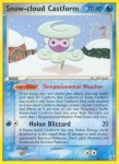 29 Snow cloud Castform