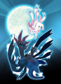 Sylveon vs. Hydreigon