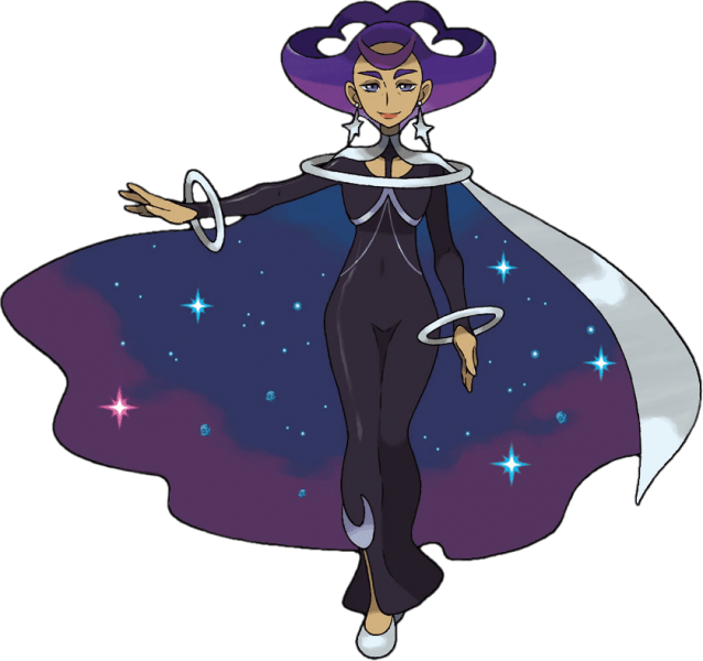 Olympia, a psychic type specialist