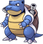 009Blastoise Pokemon Mystery Dungeon Red and Blue Rescue Teams