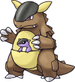 115Kangaskhan Pokemon Mystery Dungeon Red and Blue Rescue Teams