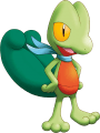 252Treecko Pokemon Mystery Dungeon Explorers of Sky
