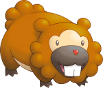 399Bidoof Pokemon Mystery Dungeon Explorers of Sky