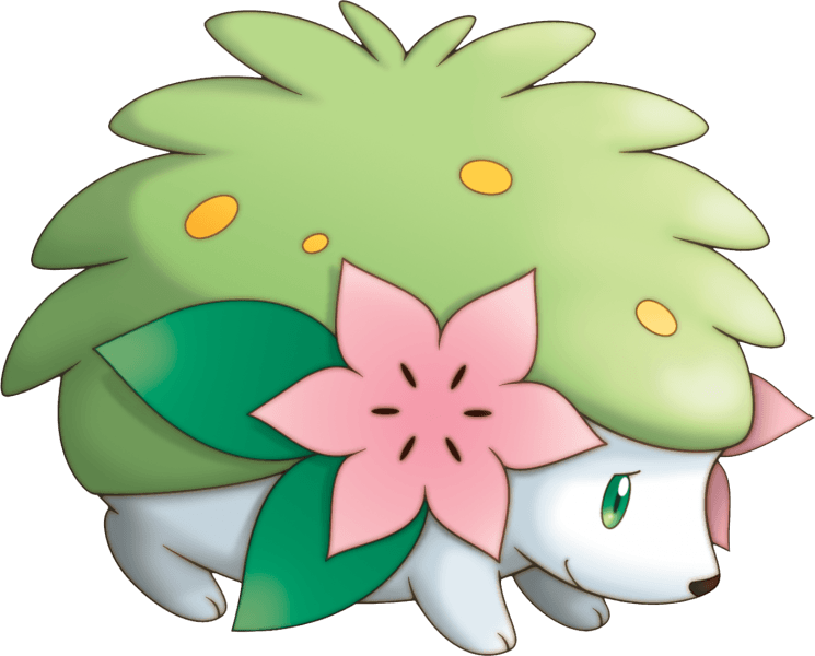 492Shaymin Pokemon Mystery Dungeon Explorers of Sky