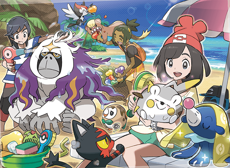 The new Pokemon Refresh feature in Sun and Moon