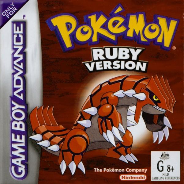 Pokemon Ruby Box Art