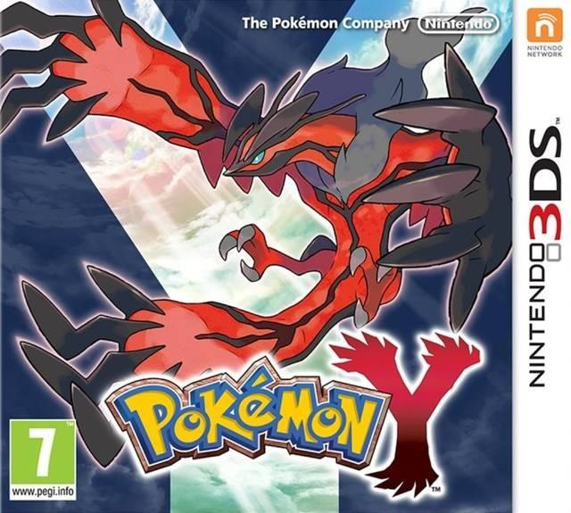 Pokemon Y Front Cover