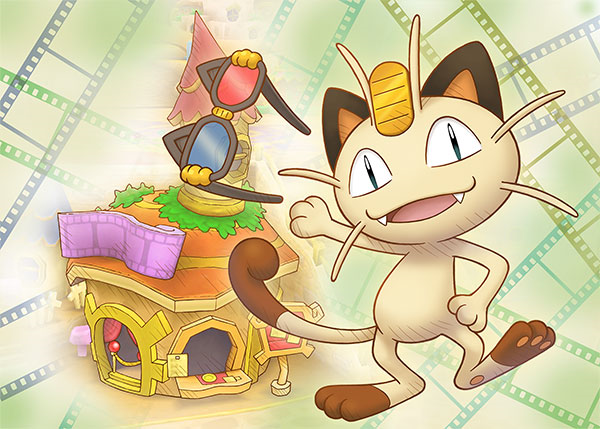 Meowth Theater artwork PSMD