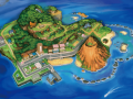 Melemele Island, where you just moved from Kanto!