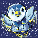 Leaping Piplup